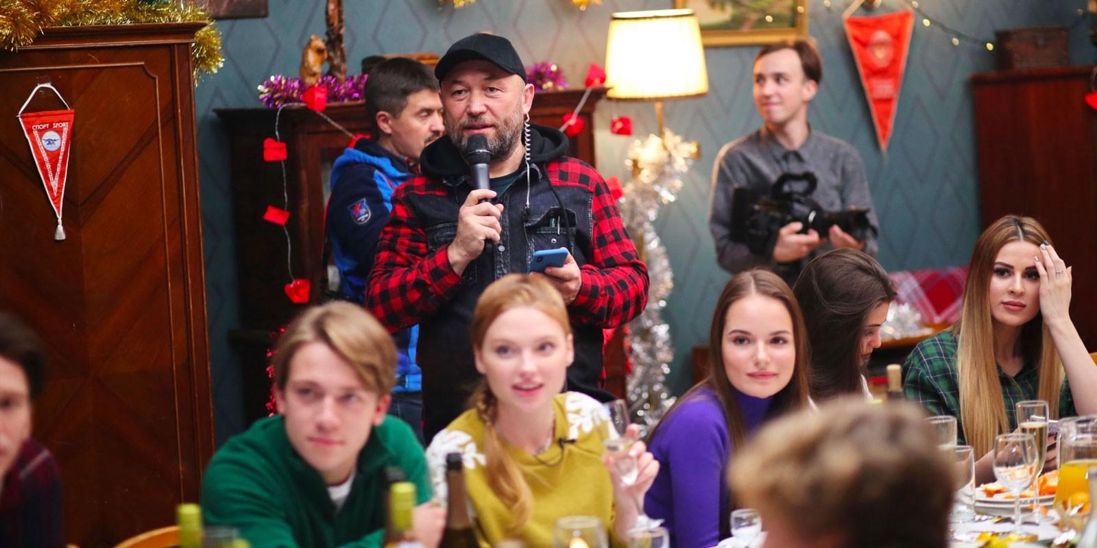 Тимур Бекмамбетов на съёмках Ёлки последние 2018