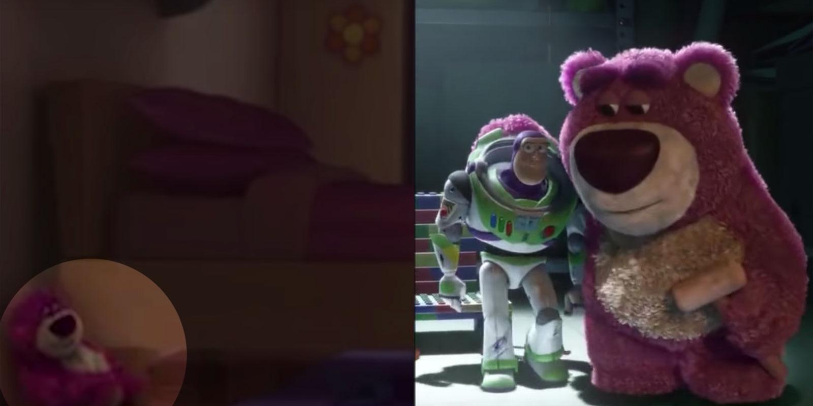Многочисленные пасхалки от Pixar