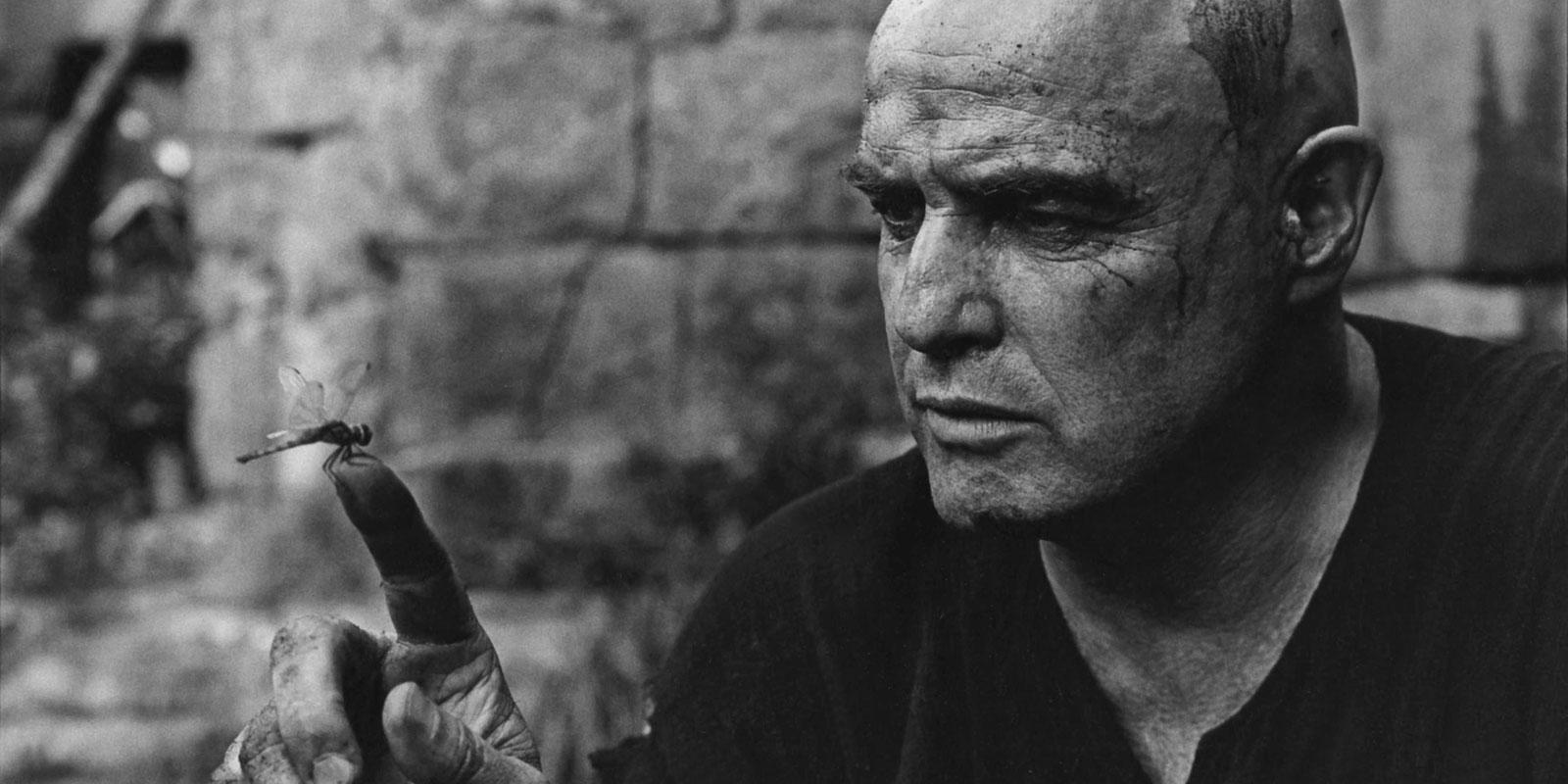 Марлон Брандо на съёмках фильма Апокалипсис сегодня (Apocalypse Now) 1979