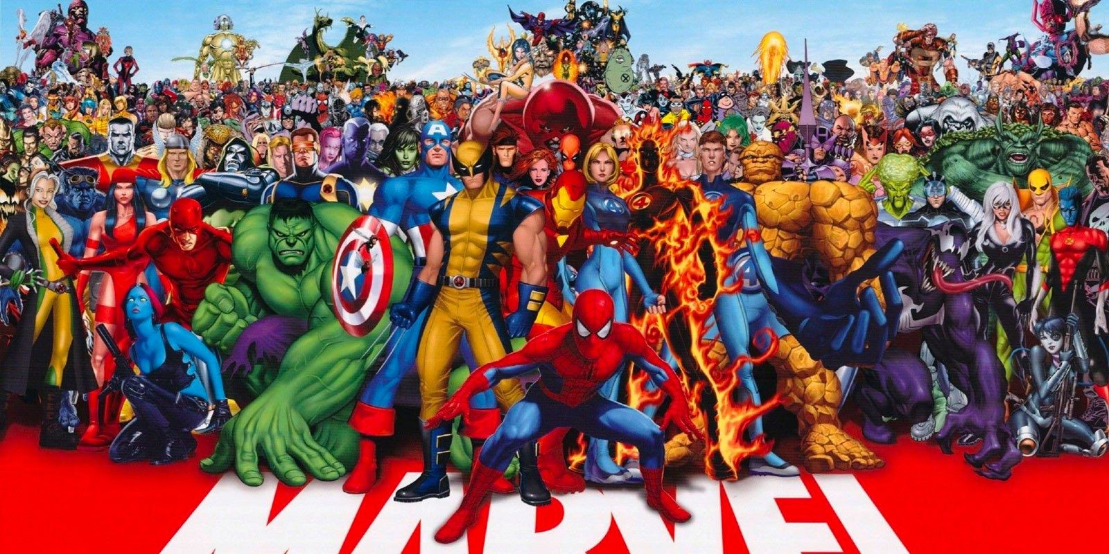 Команда супергероев Marvel