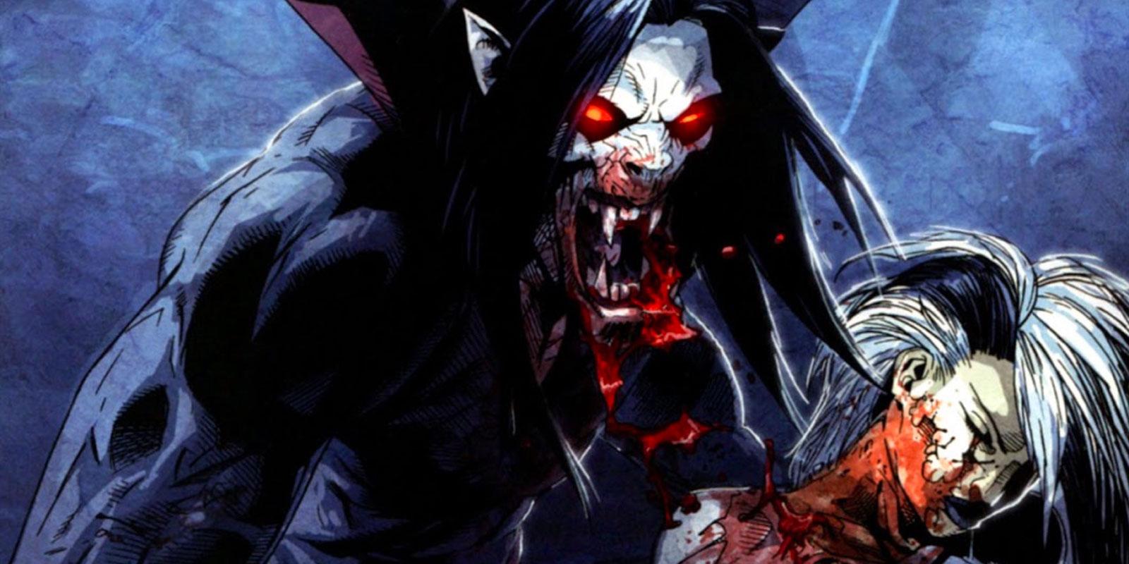 Морбиус - живой вампир был второстепенным персонажем Человека-паука