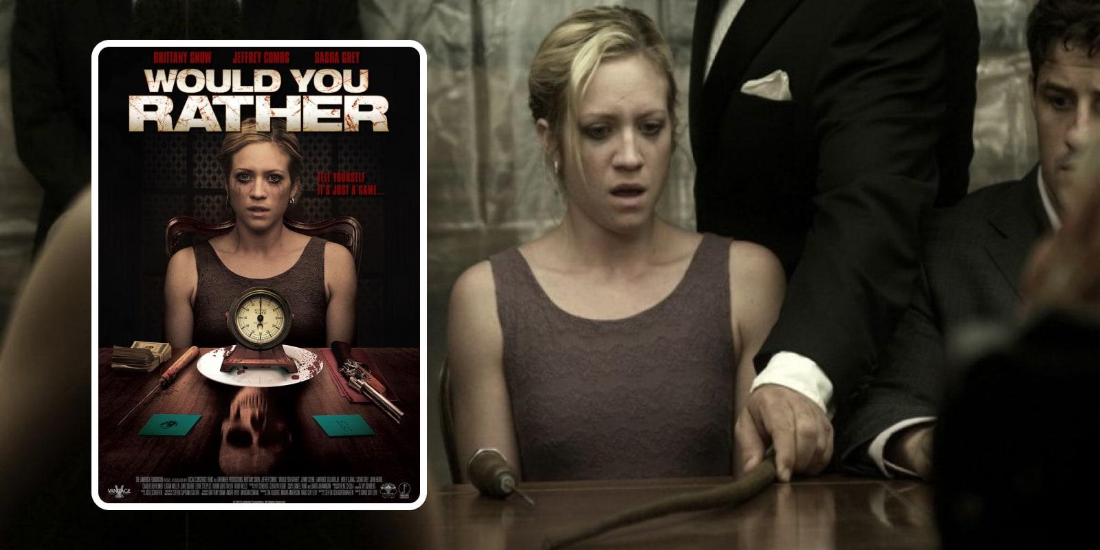 Что бы вы сделали… (2012) Would You Rather
